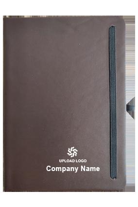 Effit Dark Brown Notebook-Ruled