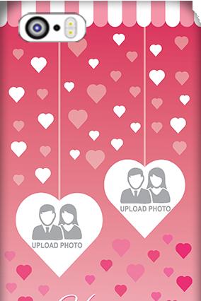Apple I Phone 5 Sparkling Valentine's Day Mobile Cover