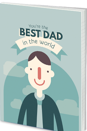 Effit My Dad,My Hero Father's Day Notebook