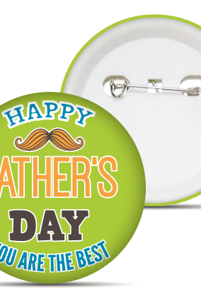 Beautiful Father's Day Badge