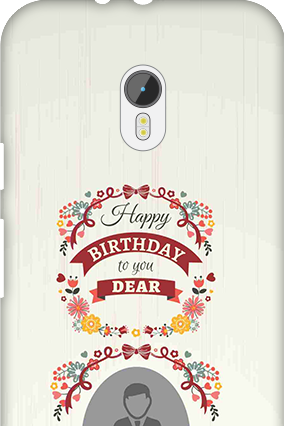 Transparent Silicon - Happy Birthday Dear Motorola Moto G 3rd Gen Mobile Cover