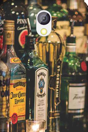 Transparent Silicon - Bar Love HTC Desire 526G Plus Mobile Cover