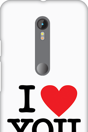 Motorola Moto G3 I Love You Valentine's Day Mobile Cover