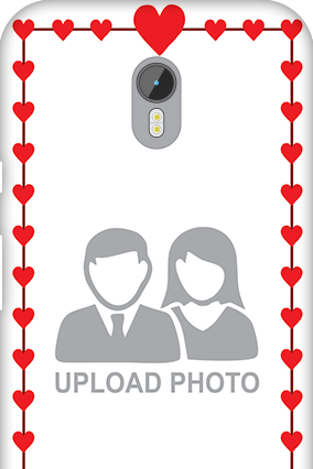 Silicon - Motorola Moto G3 Heart Valentine's Day Mobile Cover