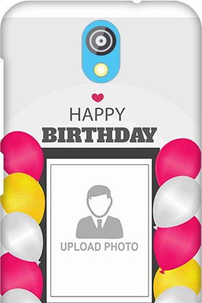 Silicon - HTC Desire 526G Plus Birthday Greetings Mobile Cover