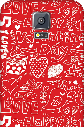 Samsung Galaxy S5 Happy Valentine's Day Mobile Cover