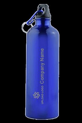 Blue Gloss Sports Bottle 750ml