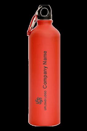 Red Matt Sports Bottle 750ml