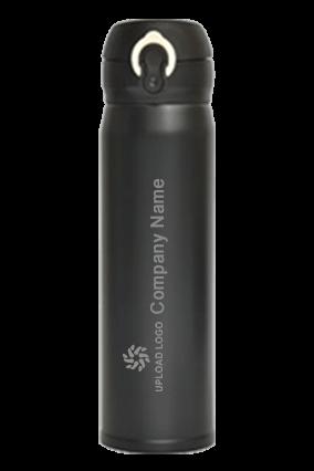 Black Mini Flask