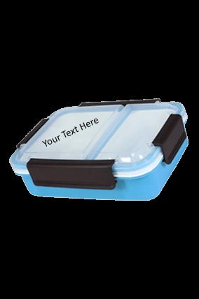 Blue 2 Part Lunch Box