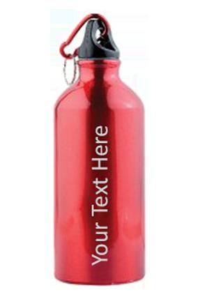 Red Gloss Sports Bottle 500ml