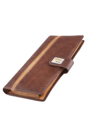 Leatherite Cheque Book Cover GE-1042