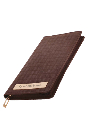 Customized Leatherite Cheque Book Cover GE-1043