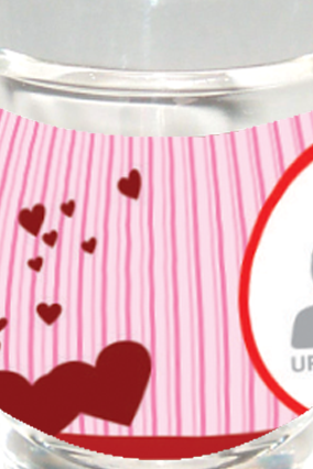 Heartful Shot Glass