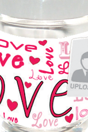 Love Good Shot Glass