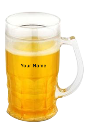 Beer Mug Yellow (360 Ml) GM-105 WHITE