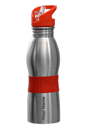 Omega Curved Bottle (600 Ml) Red GM-156