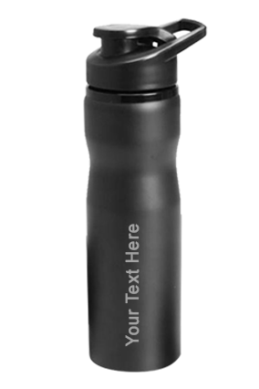 H2O Pro Bottle (700 Ml) Black-GM-237