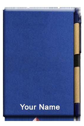 Hard Bound Eco Notebook Blue-GM-314