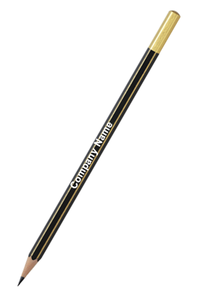 Personalize Apsara Gold Pencils - Pack of 10