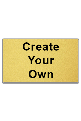 Create Your Own Gold Business Card