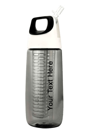 Fruit Infuser Bottle With Silicon Handle Grip (700Ml Approx) Bpa Free-H167
