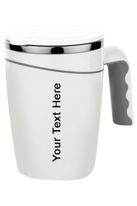 Cambridge Magic Stainless Steel Mug With 304 Steel Spill Free Design 470 Ml Approx-H168