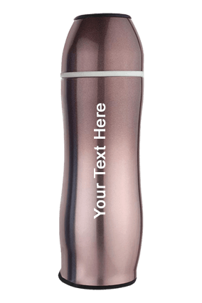 Curvy Bullet Vacuum flask 500 ml approx-H170