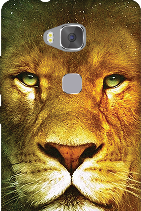 Custom Huawei Honor 5X Lion Face Mobile Cover