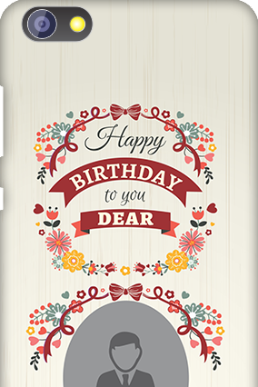 Amazing Huawei Honor 4X Happy Birthday Dear Mobile Cover