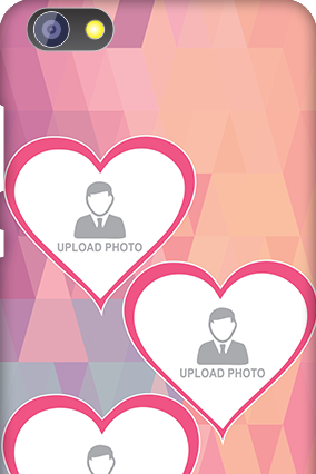 Customize Huawei Honor 4X Pinkish Heart Mobile Cover