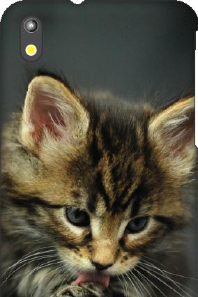 Amazing HTC Desire 816 Cute Cat Mobile Cover
