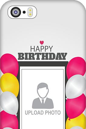 iPhone 5 Birthday Greetings Mobile Cover