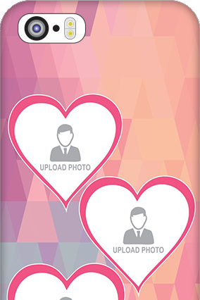 iPhone 5 Pinkish Heart Mobile Cover
