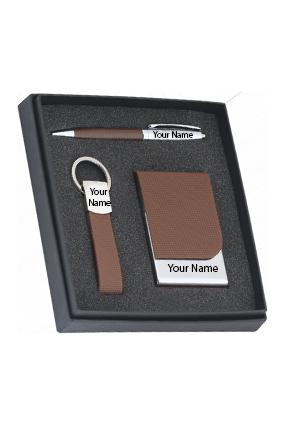 Tesla (Pen + V Card + K Chain set)-IDF-9239