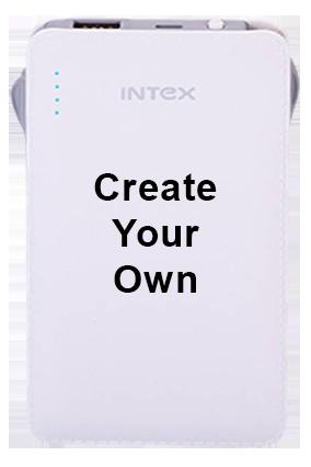 Create Your Own Intex-Power Bank PB-2500mAh Poly - Yellow