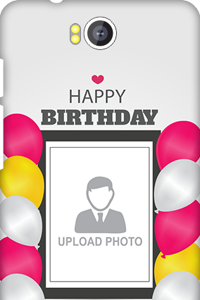 Transparent Silicon - Birthday Greetings Intex Aqua 4.5E Mobile Cover