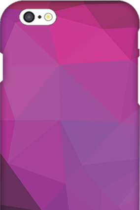 3D Customized 3D-IPhone 6s Purple Mobile Cover6s  Purple Mobile Cover