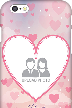 3D IPhone 6  Love & Heart Anniversary Mobile Cover