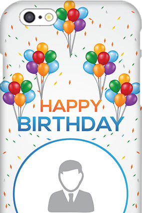 Customize 3D-IPhone 6s Happy Birthday Mobile Cover