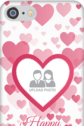 3D IPhone 7 True Love Anniversary Mobile Cover