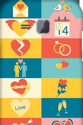 Silicon - Samsung Galaxy J1 Creative Valentine's Day Mobile Cover