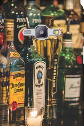 Silicon - Samsung Galaxy J1 Ace Bar Love Mobile Cover
