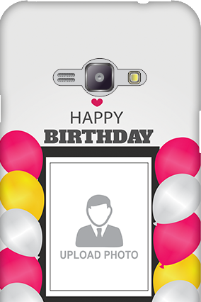 Silicon - Samsung Galaxy J1 Ace Birthday Greetings Mobile Cover