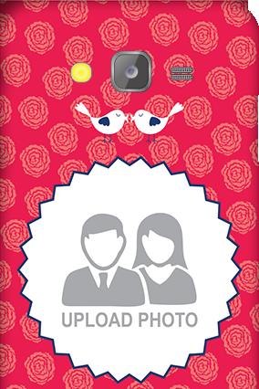 Silicon - Samsung Galaxy J5 Love Birds Valentine's Day Mobile Cover