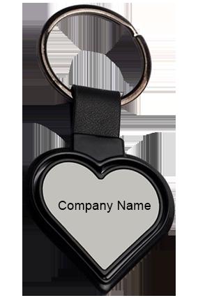 Rotating Heart Shape Keychain J99