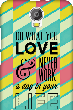 Transparent Silicon - Do What You Love Micromax Canvas Juice 2 Mobile Cover