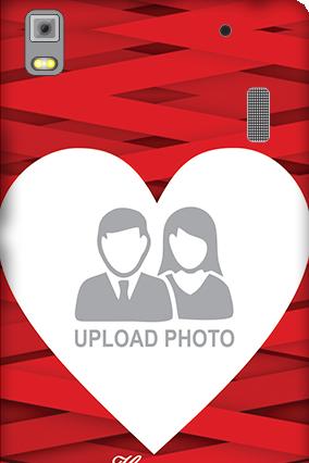 Lenovo K3 Note Big Heart Valentine's Day Mobile Cover