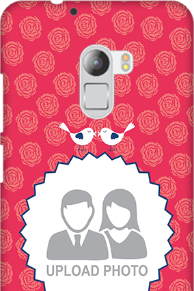 Silicon - Lenovo K4 Note Love Birds Valentine's Day Mobile Cover