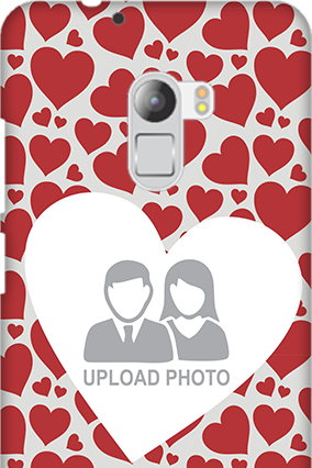Silicon - Lenovo K4 Note Heart Pattern Valentine's Day Mobile Cover